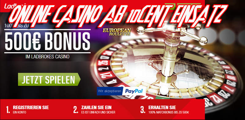 10 cent roulette online casinos