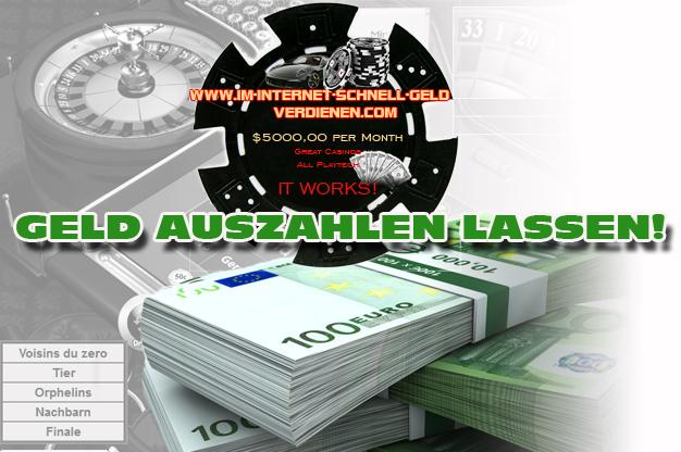 auszahlung online casino